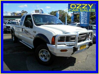 2004 Ford F250 RN XLT (4x4) White Automatic 4sp A Super Cab Pickup
