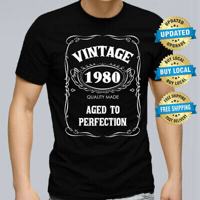 40th BIRTHDAY VINTAGE 1979 Men T Shirt Size XS 5XL Present Gift 40 Years