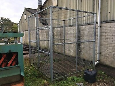Heavy Duty Galvanised Security Storage Cage