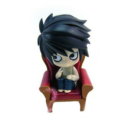"HOT Anime Death Note 4"" L Lawliet Action Figure PVC Doll Model Toy Gift"