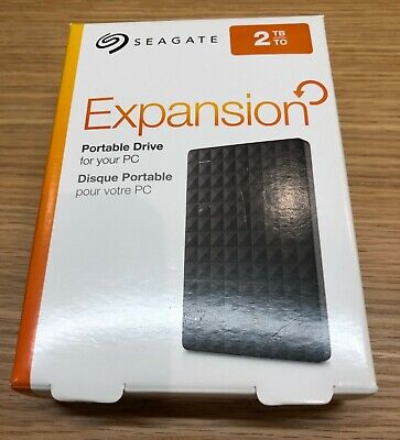 Seagate Expansion 2TB USB Portable Hard Drive