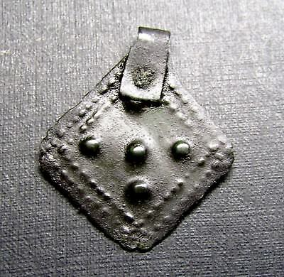 Ancient Bronze Viking PENDANT. 7.77. Amulet.
