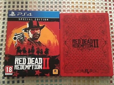 Red Dead Redemption Ii 2 Ps4 Special Edition Playstation 4 Play Station 4