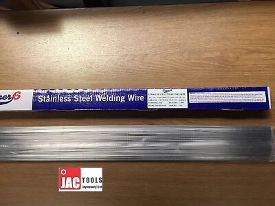 10x STAINLESS STEEL TIG FILLER RODS WELDING WIRE ST/ST 330mm 316L 1.6MM / 2.4MM