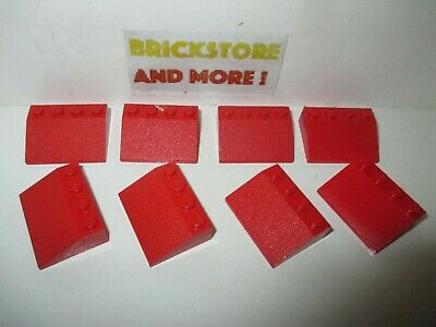 Lego Choose Quantity x2 x20 Slope Pente Inverted 45 1x2 2x1 3665 Red//Rouge