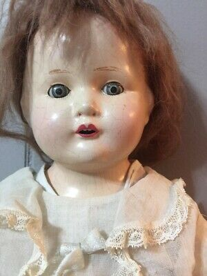 "Century Dolls Co Composition Sleepy Eyes  20"" Doll"