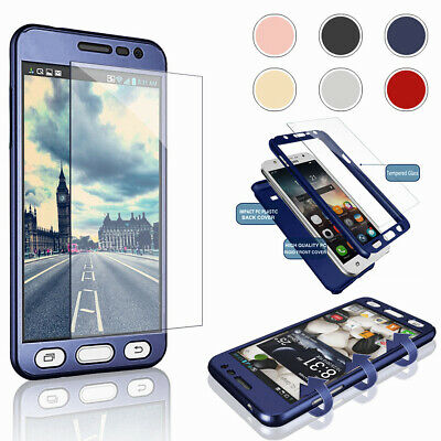 Ultra Thin Shockproof Full Cover Phone Case Hard For Samsung Galaxy Note 5 4 3