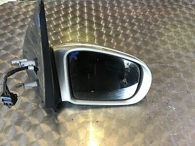 Mercedes Ml W163 Facelift 01-05 Rh Os Drivers Side Wing Mirror Silver