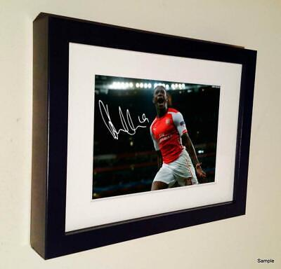 7x5 Signed Danny Welbeck Autographed Arsenal Photo Picture Frame Memorabilia 2