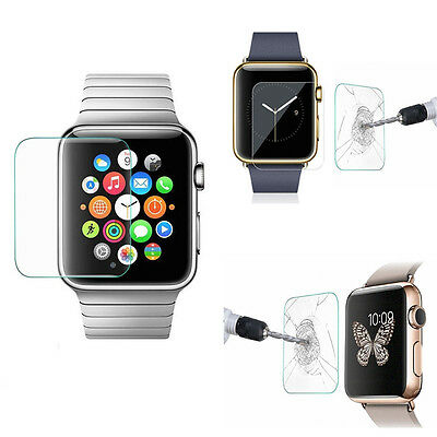 Tempered Glass Screen Protector for Apple Watch Series 1/2/3/4 42mm iWatch UN
