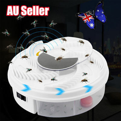 USB Electric Fly Trap Artifact with Trapping Food Automatic Flycatcher NU
