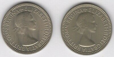 1953 English & Scottish One Shilling Coins   Pennies2Pounds