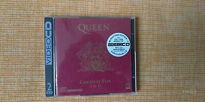 Queen - Greatest Hits I & Ii  - 2 Video Cd - Uk 1994 Pmcd 4912712