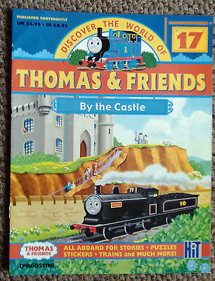 DISCOVER THE WORLD OF THOMAS AND FRIENDS No.17 -BY THE CASTLE,PUZZLES ECT