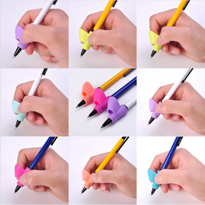 3Pcs/Set Children Pencil Holder Pen Writing Aid Grip Posture Tools Correction NU