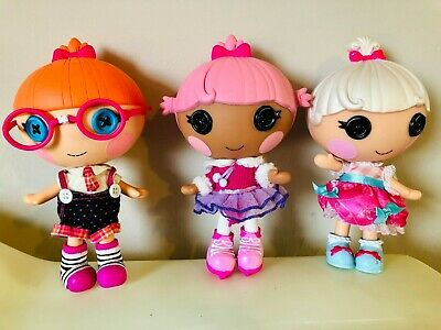Dolls & Bears Used Lalaloopsy Littles Doll Bundle