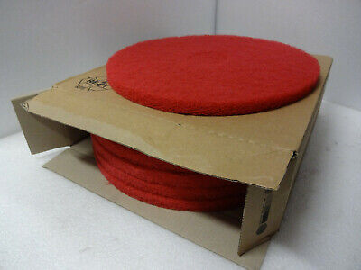 3M Red Floor Pads Pk of 5