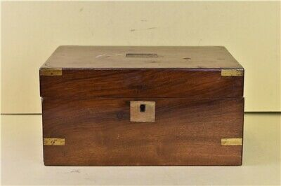Vintage Victorian Wooden Writing Slope With Hidden Drawers Collectable Desk