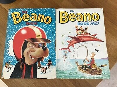 The Beano Book 1968 and 1969