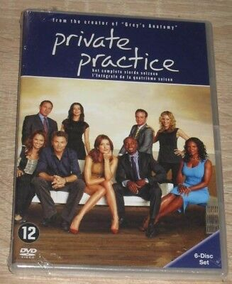 "New Coffret Box Set 6 DVD Série ""PRIVATE PRACTICE - Saison 4"" [NEUF SOUS CELLO!]"
