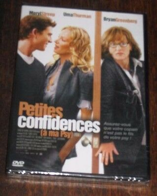 "New Film DVD ""PETITES CONFIDENCES A MA PSY"" (Streep, Thurman) [NEUF SOUS CELLO!]"