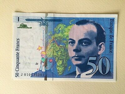Vends Billet De 50 Francs Saint Exupéry