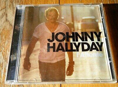 Johnny Hallyday L'attente Avec Programme Tournée 2012 Duo Céline Dion Cd
