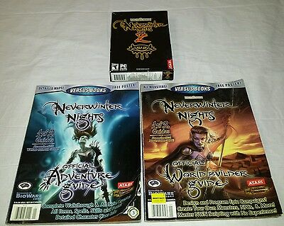 NEVERWINTER NIGHTS 2 BOOK and Game Lot  Adventure & World Builder