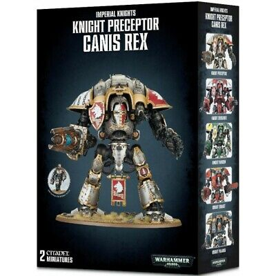 Imperial Knight Preceptor Canis Rex - Games Workshop 54-15