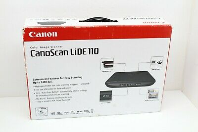 CANON CANOSCAN LIDE 110 USB Powered Flatbed Scanner Fast