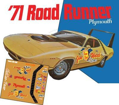 CD/_CC-068 Don Grotheer Plymouth Barracuda   1:24 Scale DECALS