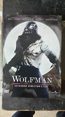 "Film in DVD ""Wolfman""  Extended Director's Cut no VHS no Bluray originale"