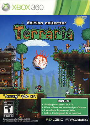 Terraria Collector Edition (French Package, Game Playable In English O (Xbox360)