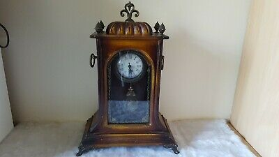 Vintage mantle clock Quarts Battery Movement