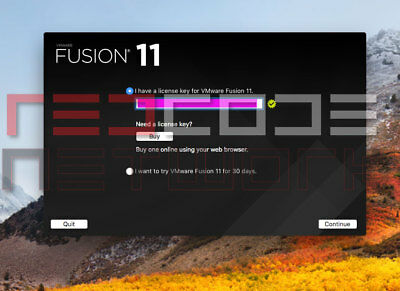 VMware Fusion 11 Pro Version for Mac [License key] Lifetime