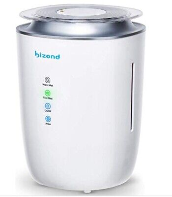 BIZOND ULTRASONIC HUMIDIFIER Ultra Quiet Warm and Cool