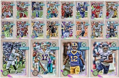 18-19 GYPSY QUEEN BASE SET OF 20 NEWTON/COOKS/CARR+++ Topps Huddle Digital Card