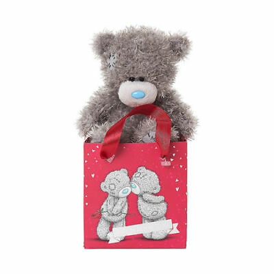 "Me to You 5"" Valentines Plush Inside Lots of Love Gift Bag - Tatty Teddy Bear"