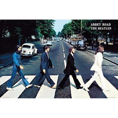 BEATLES - ABBEY ROAD POSTER - 36 In x 24 In - Wrapped