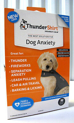 ThunderShirt HGM-T01 Classic Dog Anxiety Jacket Medium - Solid Grey