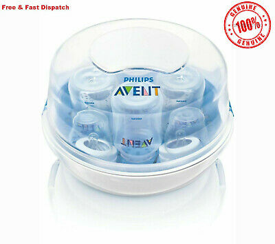 Philips AVENT Baby Microwave Steam Bottle Steriliser BPA Free