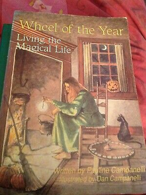 Wheel Of The Year Living The Magickal Life 170 Page Book Pauline Campinell