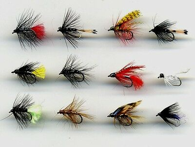 Trout Flies code 397 Traditional Wet Flies x 12 Named as listed below size 10