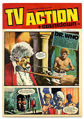 TV Action #67 (May 27, 1972) Captain Scarlet + UFO + Stingray + Dr Who strips
