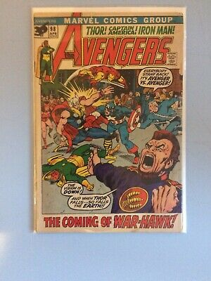 The Avengers # 98 Marvel Comics 1972 Bronze Age
