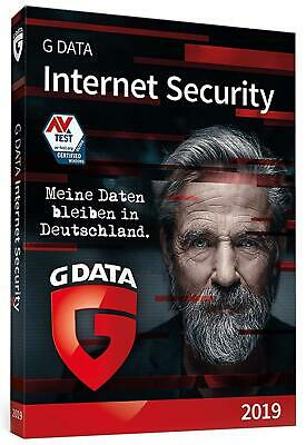 G DATA Internet Security 3 PC  2019 Upgrade | Download / Email-Versand / ESD