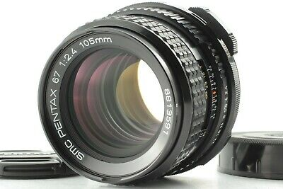 【 Mint 】 smc PENTAX 67 P 105mm F/2.4 LATE MF Lens for 6x7 67 II From JAPAN #0633