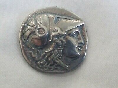 ALEXANDER the GREAT 323 BC Silver SALAMIS coin