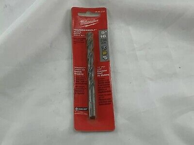 Thunderbolt Web Durable Tool Milwaukee S and D Black Oxide Drill Bit 17//32 In