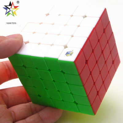 Yuxin Cloud Kylin 5x5x5 Magic Cube Twist Speed Puzzle IQ Fancy Toys Stickerless